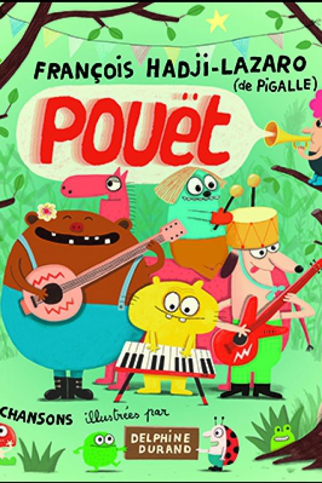 """Billets FRANCOIS HADJI-LAZARO & PIGALLE dans """"POUET""""  - TRANSBORDEUR"""