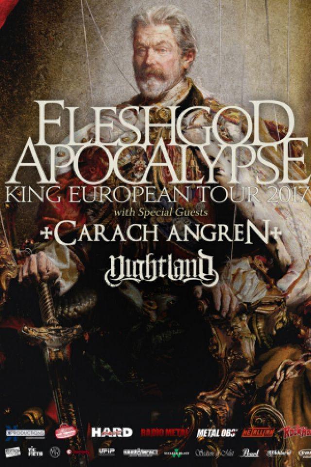 Fleshgod Apocalypse / Carach Angren / Nightland - Nantes @ Le Ferrailleur - Nantes