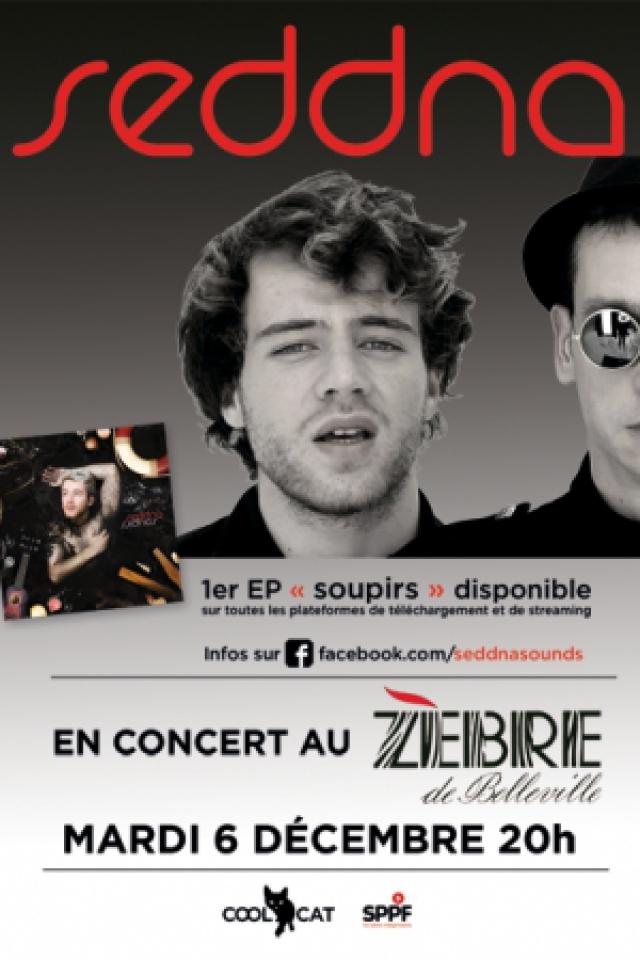 Seddna en concert @ le Zèbre de belleville - PARIS