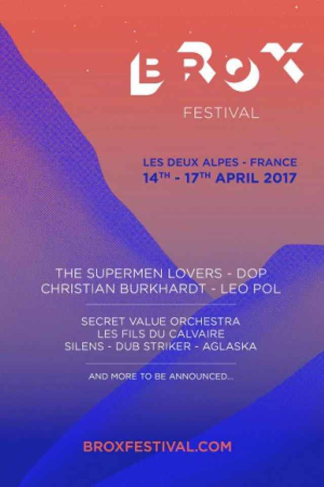 Brox Festival - Pass 3 Jours @ Les Perrons - MONT DE LANS