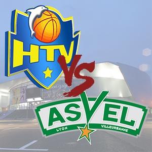 HTV - ASVEL @ Palais des Sports de Toulon - TOULON