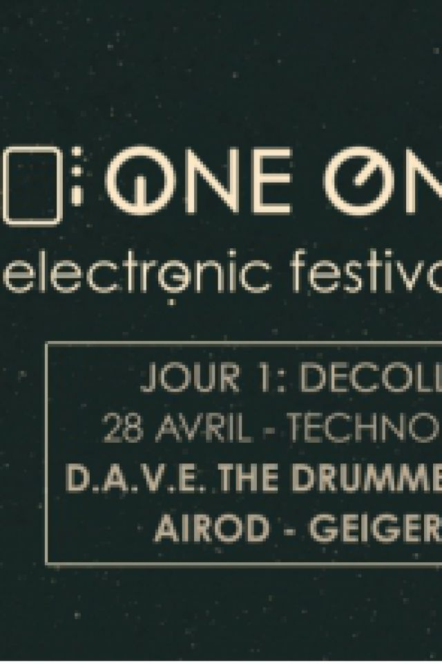 Billets One One Six Festival / Jour 1 : Décollage [Techno / Acid] - Glazart