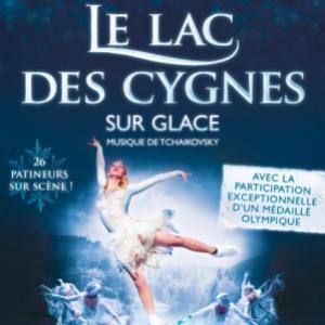 Spectacle LE LAC DES CYGNES SUR GLACE