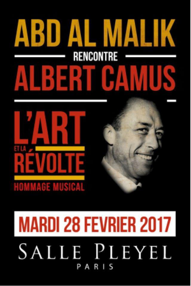 ABD AL MALIK RENCONTE ALBERT CAMUS @ Salle Pleyel - Paris