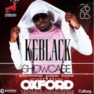 KEBLACK SHOWCASE OXFORD @ OXFORD CLUB - LA ROCHELLE