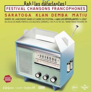 SOIRÉE AAH ! LES DÉFERLANTES ! : SARATOGA - KLAN DEMBA - MATIU @ Les Trois Baudets - Paris