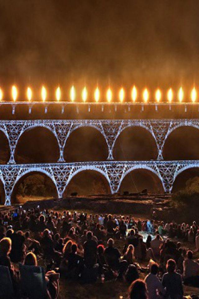 FEERIES DU PONT DU GARD @ Pont du Gard - Vers-Pont-du-Gard
