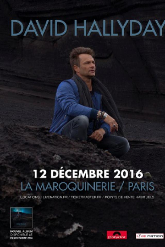 Billets DAVID HALLYDAY - La Maroquinerie
