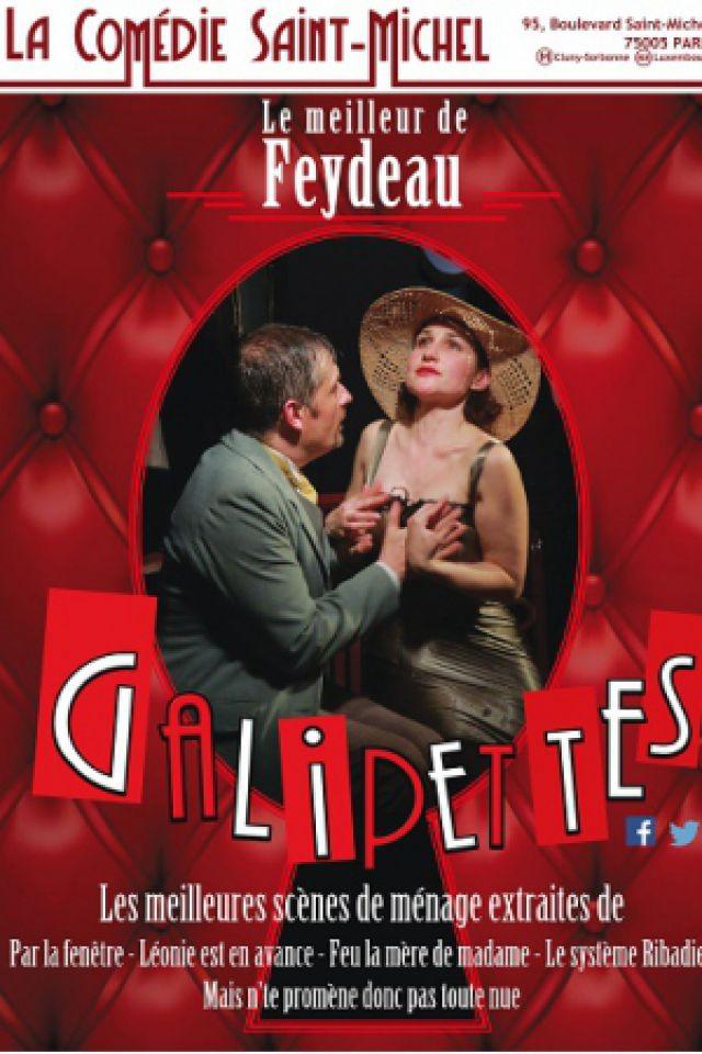 Galipettes @ La Comédie Saint Michel - Grande salle - PARIS
