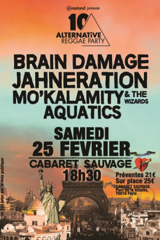 ALTERNATIVE REGGAE PARTY #10 @ Cabaret Sauvage - Paris