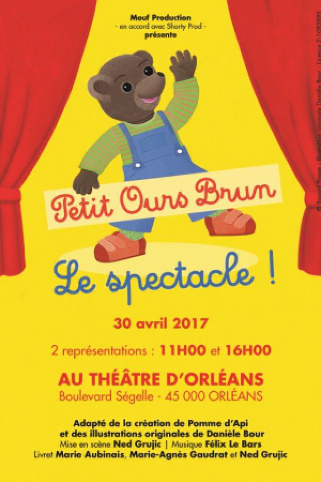 PETIT OURS BRUN @ Théâtre d'Orléans - Salle Touchard - ORLÉANS