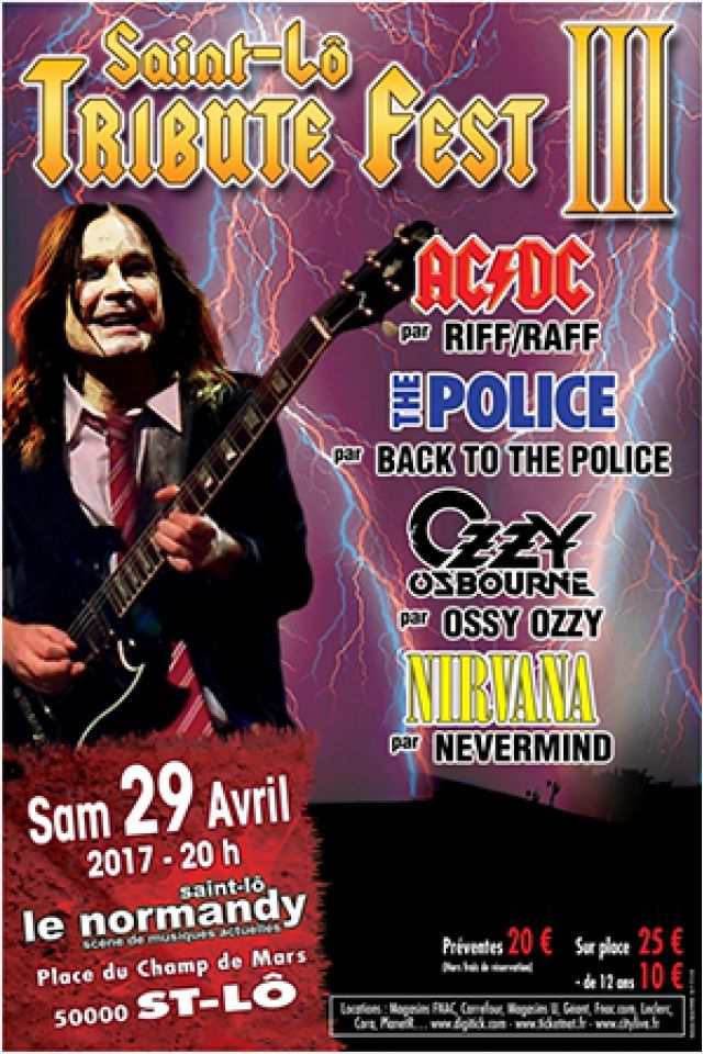 Billets SAINT-LO TRIBUTE FEST III : RIFF/RAFF - Le Normandy