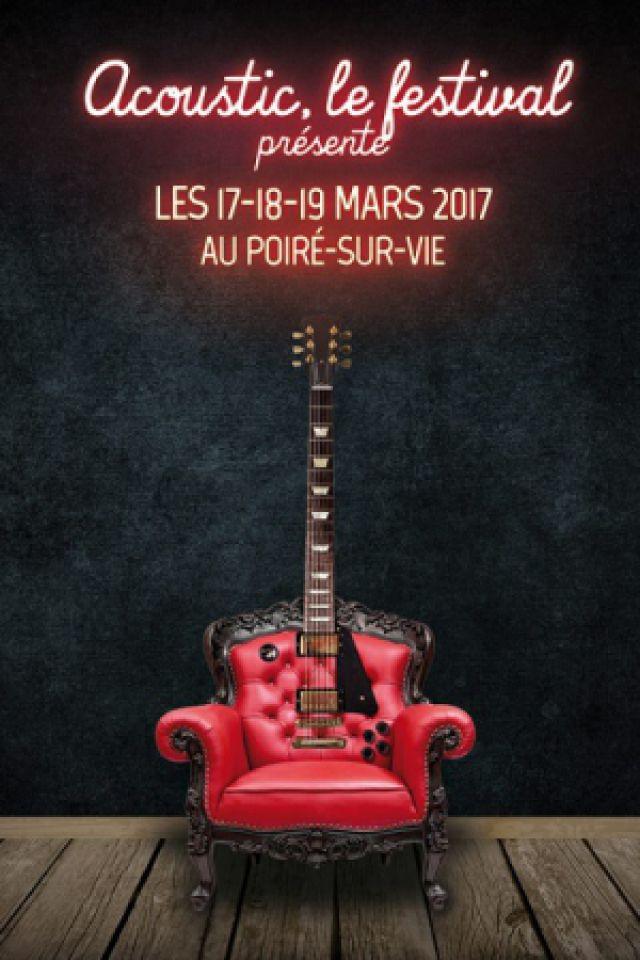ACOUSTIC FESTIVAL - LAURA GIBSON - SHAKE SHAKE GO - COCOON @ SALLE DE L'IDONNIERE - LE POIRÉ SUR VIE