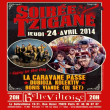 Concert SOIREE TZIGANE �GYPSY FOR ONE DAY�