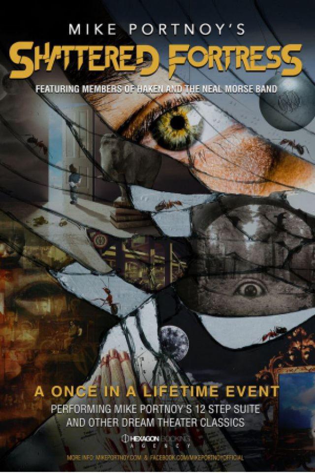 Concert MIKE PORTNOY'S SHATTERED FORTRESS à Paris @ Le Trianon - Billets & Places
