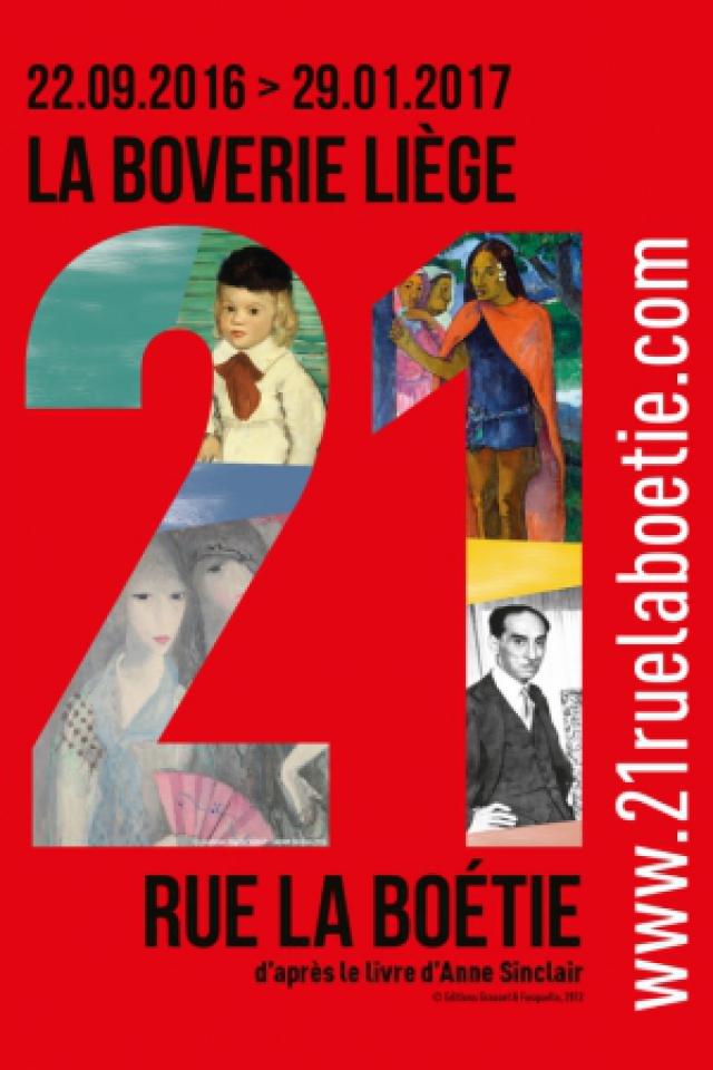 GROUPE 21 RUE LA BOÉTIE + BEAUX ARTS @ Musée de La Boverie - Liège