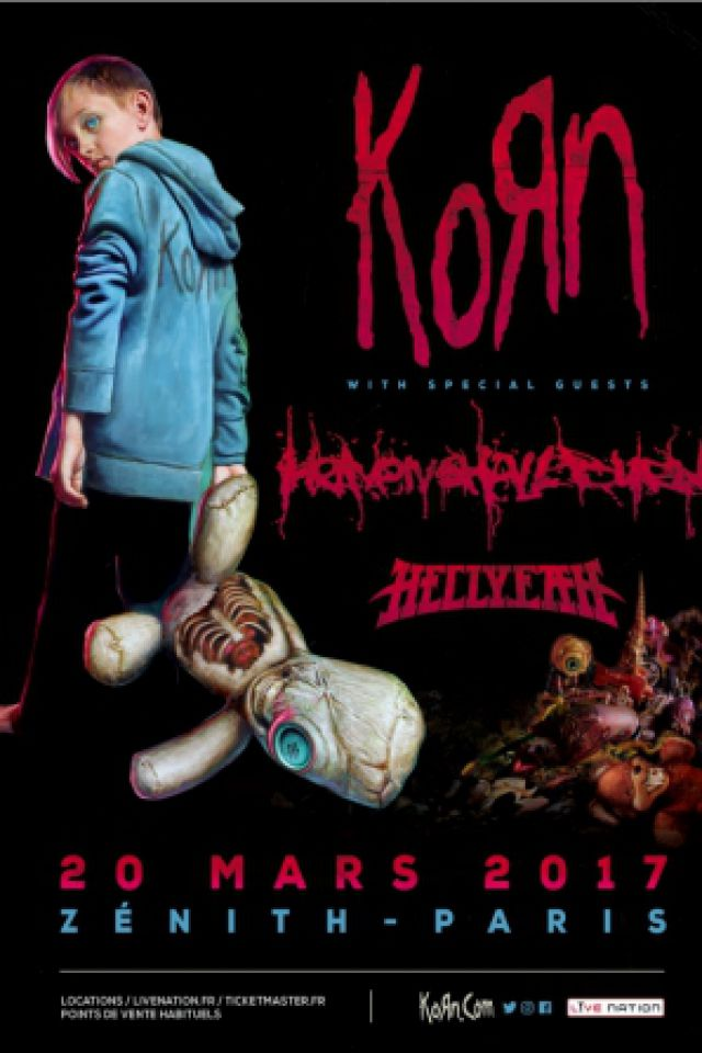 Billets KORN - Zénith Paris La Villette