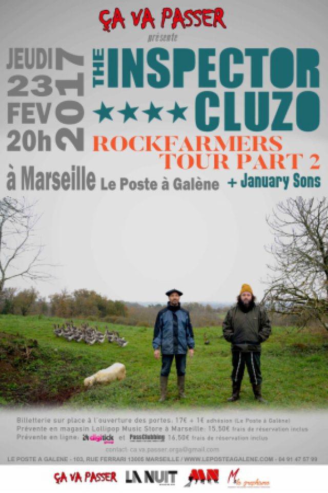 Billets The Inspector Cluzo - Le Poste à Galène