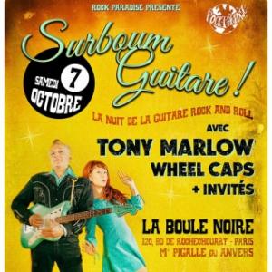 Concert LA NUIT DE LA GUITARE ROCK AND ROLL AVEC TONY MARLOW/ WHEEL CAPS