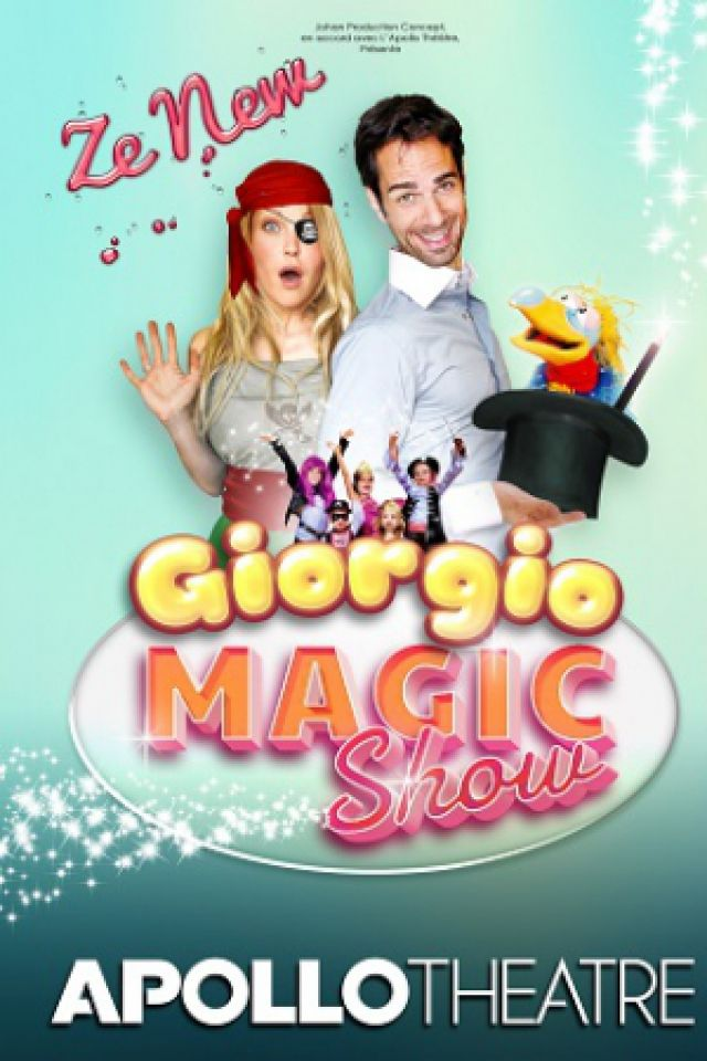 ZE NEW GIORGIO MAGIC SHOW @ APOLLO THEATRE - PARIS