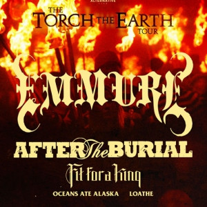 Concert EMMURE + AFTER THE BURIAL + FIT FOR A KING