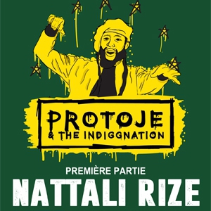 Concert PROTOJE & THE INDIGGNATION + NATTALI RIZE