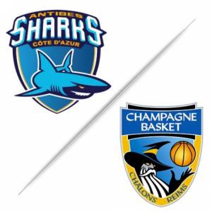 Match ANTIBES SHARKS / CHÂLONS-REIMS