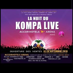 Concert LA NUIT DU KOMPA LIVE