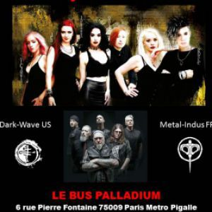 Concert THE CRUXSHADOWS à PARIS @ Le Bus Palladium - Billets & Places