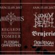 Metalorgie Fest 2017 : REGARDE LES HOMME TOMBER / NAPALM DEATH