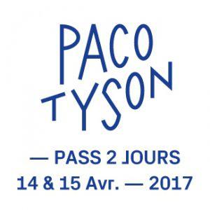FESTIVAL PACO TYSON - PASS 2 JOURS @ Site Chantrerie-Grandes Ecoles - NANTES