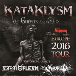 Concert KATAKLYSM + SEPTICFLESH + ABORTED @ PARIS @ La Machine du Moulin Rouge - 14 Février 2016