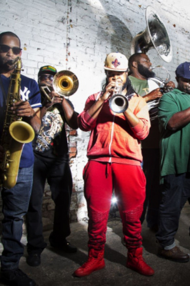 Hot 8 Brass Band + United Vibrations + Cap To Nola @ Le Tamanoir - GENNEVILLIERS