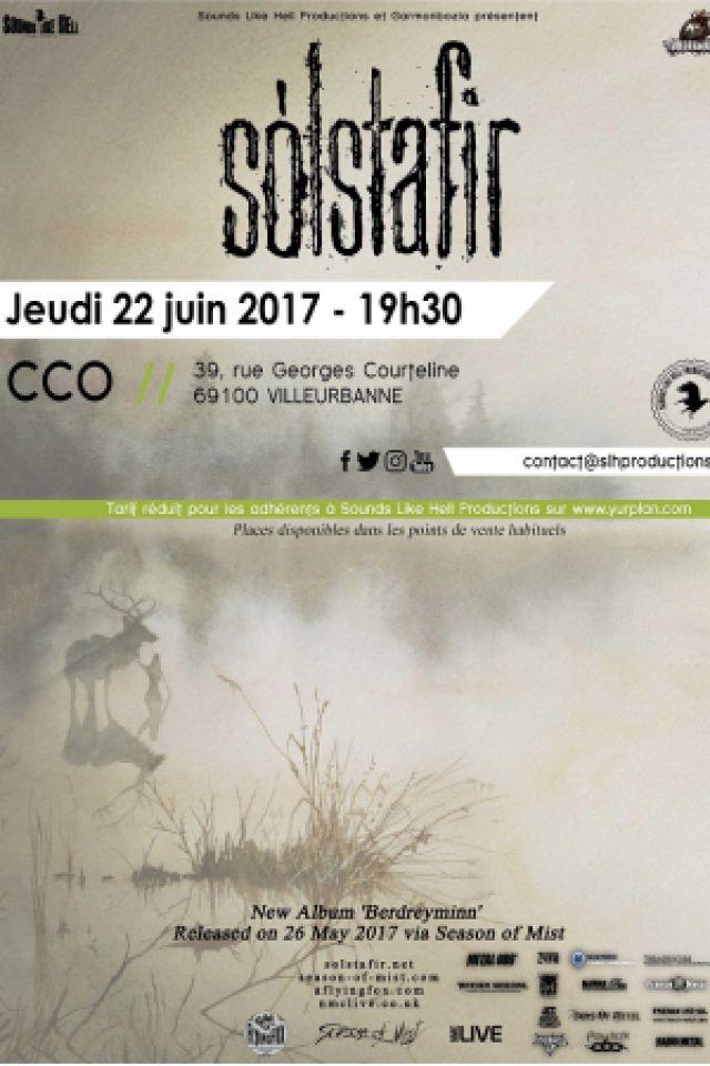 SOLSTAFIR + guests @ Centre Culturel Oecuménique (CCO) - Villeurbanne
