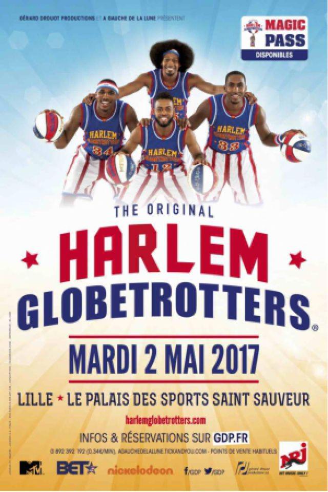 Harlem Globetrotters @ PALAIS DES SPORTS DE SAINT SAUVEUR  - LILLE