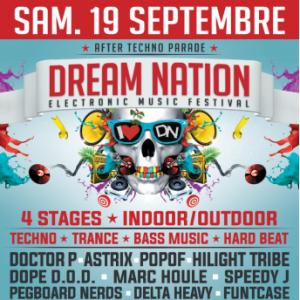 Soirée DREAM NATION FESTIVAL - AFTER TECHNO PARADE à AUBERVILLIERS @ LES DOCKS DE PARIS - Billets & Places