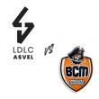 Match ASVEL - GRAVELINES