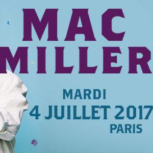 Concert MAC MILLER - ELYSEE MONTMARTRE