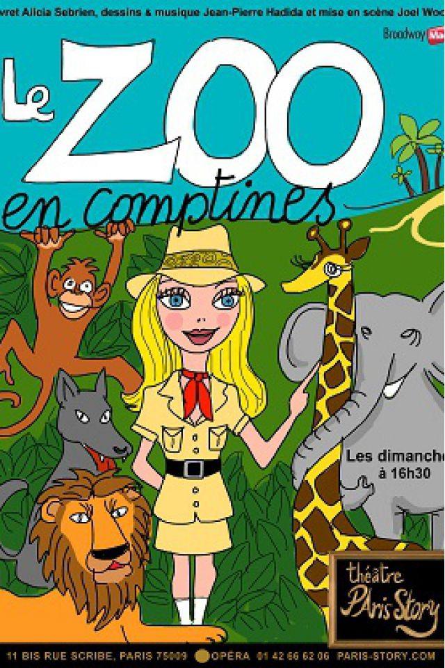 Le zoo en comptines @ THEATRE PARIS STORY - PARIS