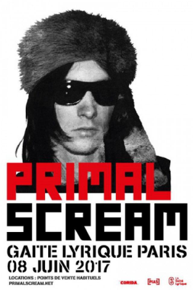 Concert PRIMAL SCREAM + RYDER THE EAGLE à Paris @ La Gaîté Lyrique - Billets & Places