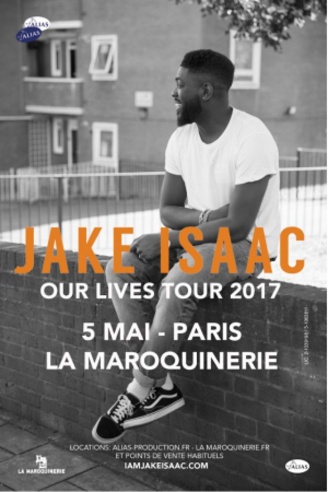 JAKE ISAAC + SUPPORT @ La Maroquinerie - PARIS
