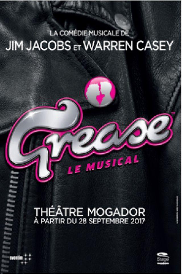 GREASE @ Théâtre Mogador - Paris