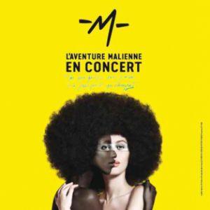 L'AVENTURE MALIENNE DE -M- @ Zénith Arena  - LILLE