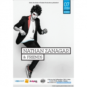 Concert NATHAN ZANAGAR & FRIENDS @ BADABOUM à PARIS - Billets & Places