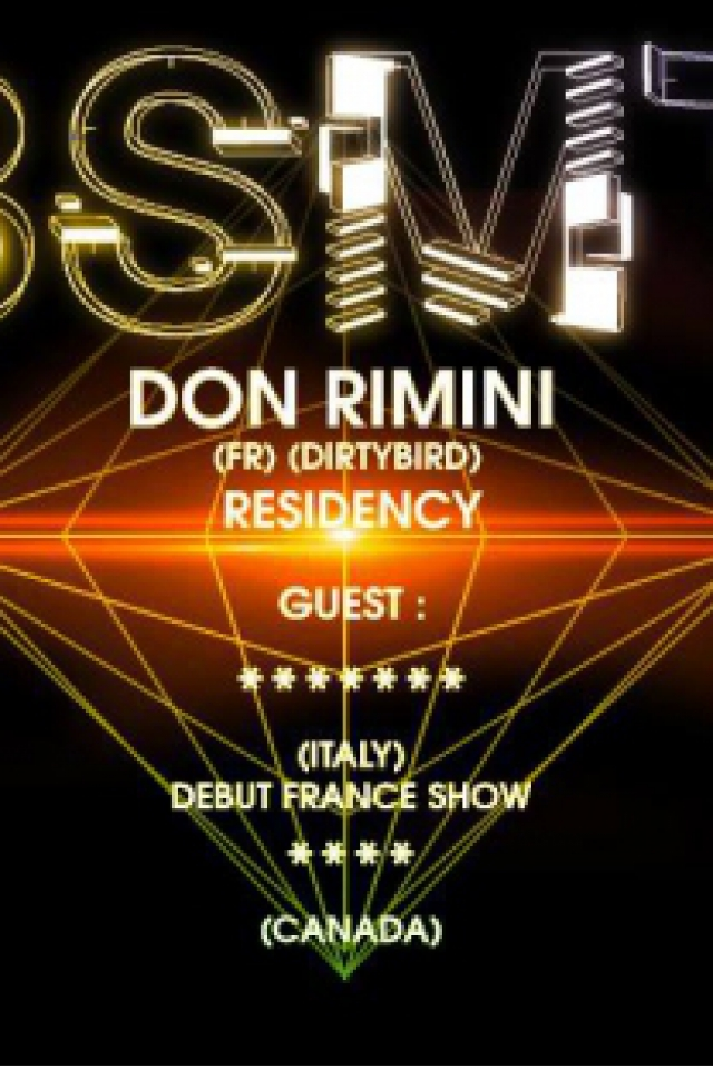 BSMT #2 Don Rimini Residency @ Le Nouveau Casino - Paris