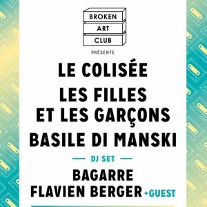 Concert BROKEN ART CLUB : Le Colis�e + Les Filles Et Les Gar�ons