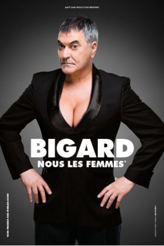 Jean-Marie Bigard « Nous les femmes» @ Elispace - BEAUVAIS