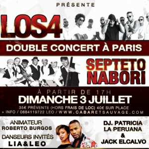 Concert LOS4 y SEPTETO NABORI