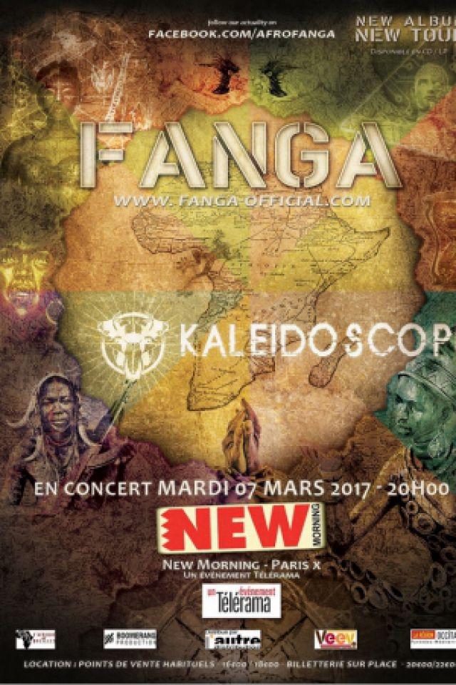 Fanga en concert @ New Morning - Paris