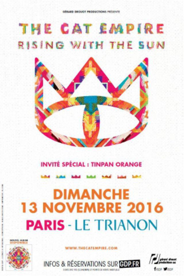 THE CAT EMPIRE @ Le Trianon - Paris